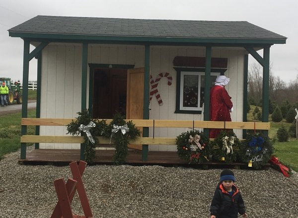 kleerview farm christmas trees office