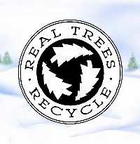 Real Trees                 Recycle Logo