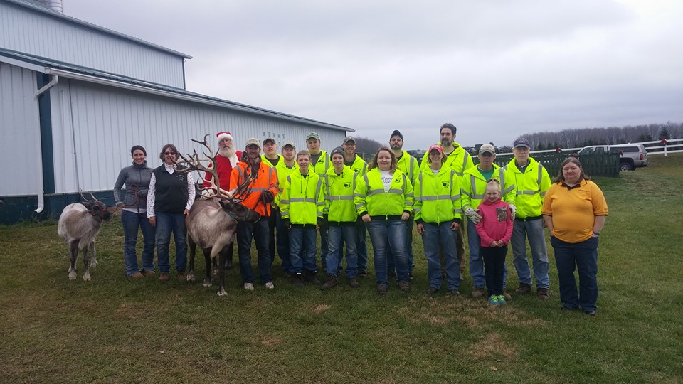 kleerview farm christmas trees staff