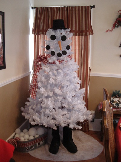 kleerview farm snowman christmas tree